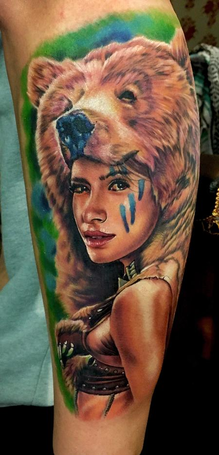 Tattoos - Bear Skin